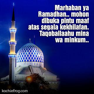 ucapan menyambut bulan ramadhan terbaru