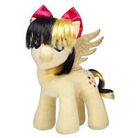 My Little Pony the Movie Songbird Serenade Build-a-Bear Plush