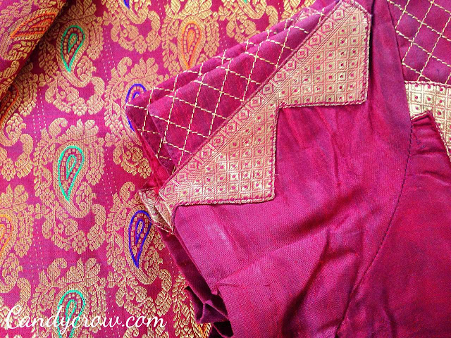 Kanchipuram Silk Saree Blouse Design