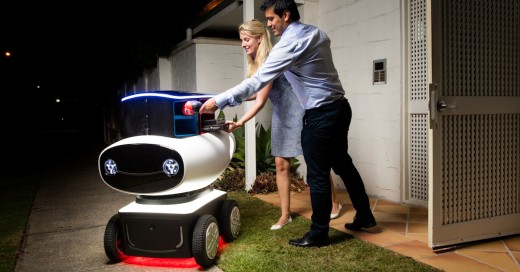 Domino's entregará sus pizzas con un robot