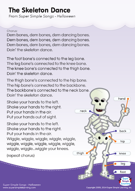 Halloween Songs Lyrics