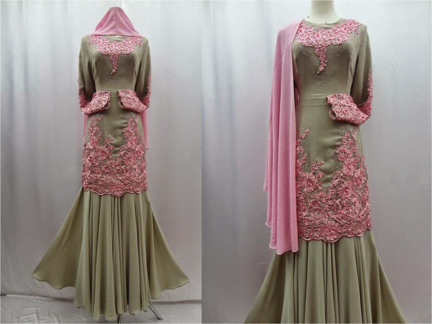 Design Terkini Baju Kurung 2014 Fesyen Muslimah Modern