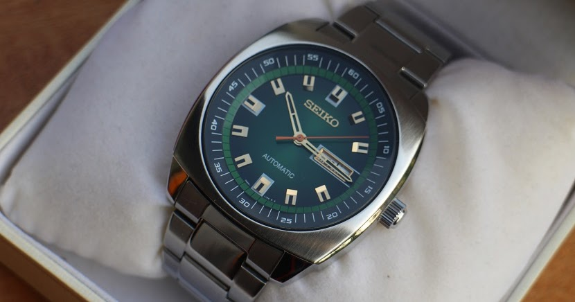 Jam tangan for sale: SEIKO Recraft Automatic Green Dial