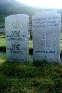Grave of an unknown victim of the Arandora Star