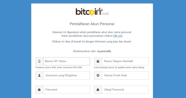 Cara Membuat Akun Bitcoin Terbaru