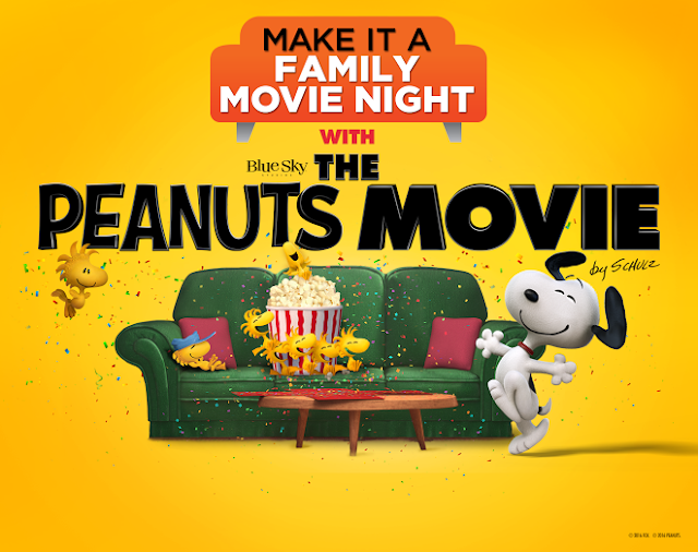The Peanuts Movie Family Movie Night