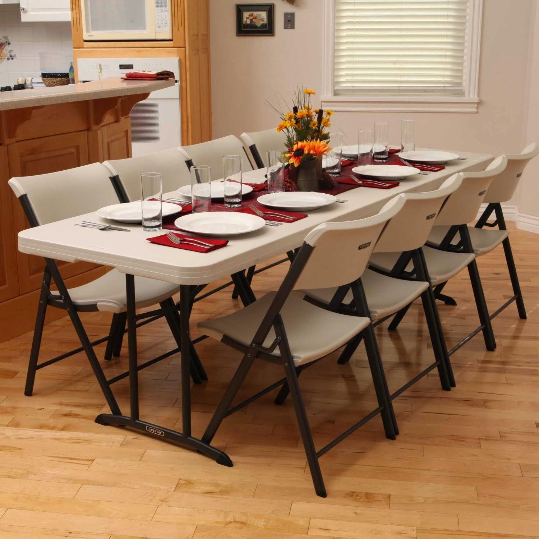 8 Ft Plastic Folding Table