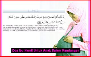 Doa Ibu Hamil Untuk Anak Dalam Kandungan