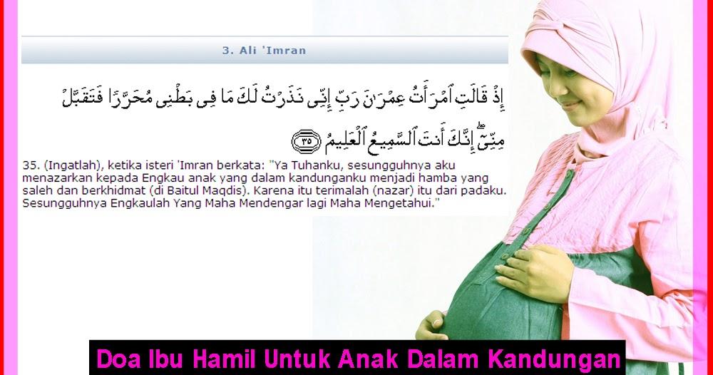 Kumpulan Doa Ibu Hamil Untuk Anak Dalam Kandungan ...