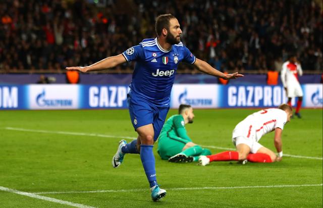 Higuaín, Juventus, Mónaco, Champions League, Cardiff