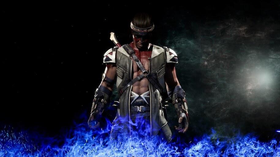Nightwolf Mortal Kombat 11 4k Wallpaper 3504