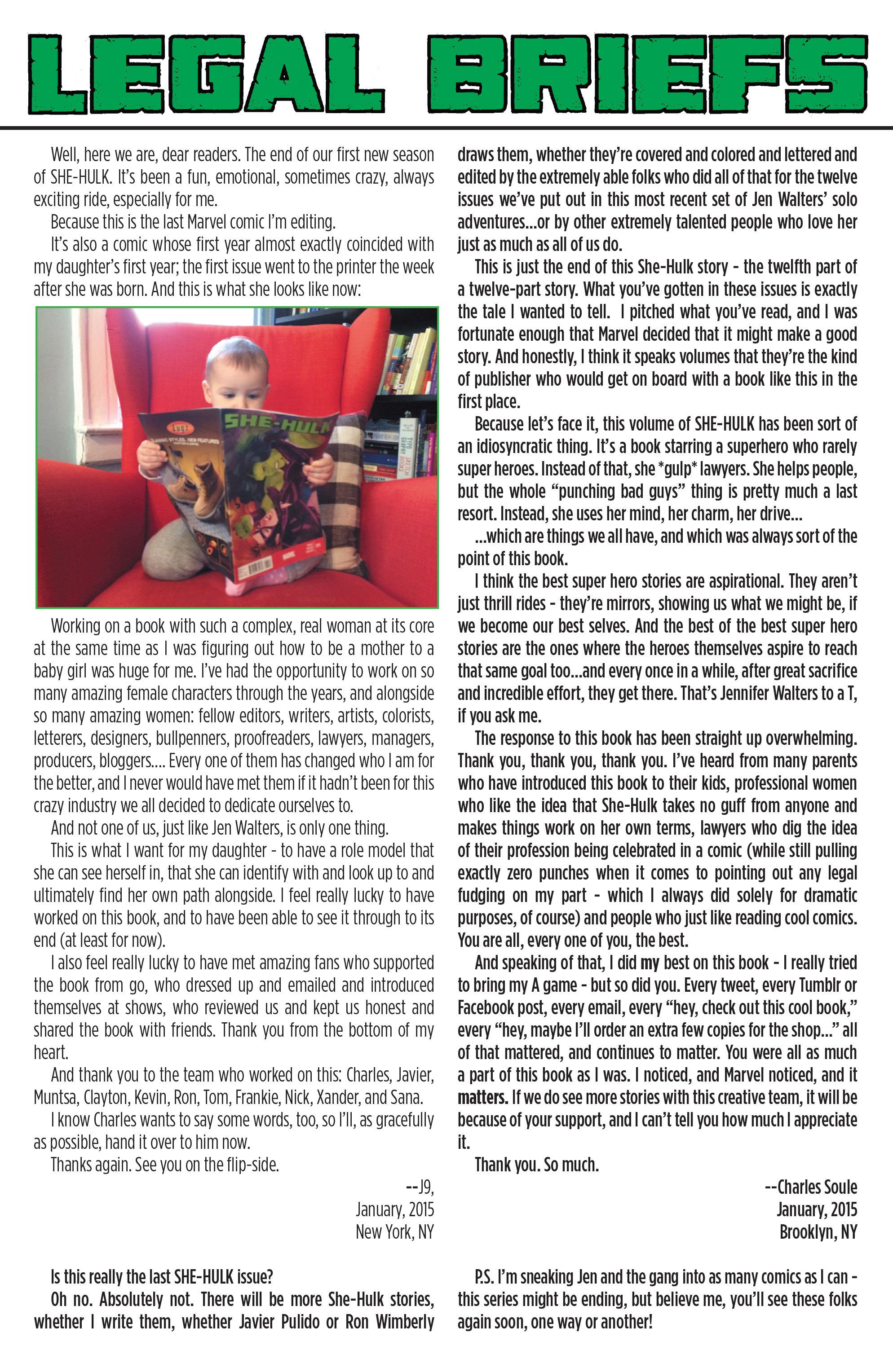 Read online She-Hulk (2014) comic -  Issue #12 - 21