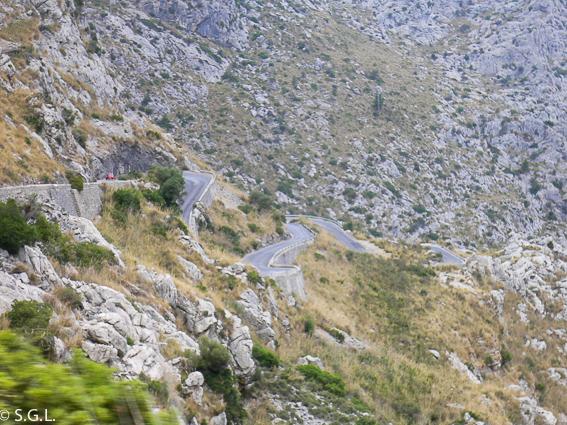 Carretera Sa Calobra en Mallorca. Las 10 mejores cosas que ver en Mallorca