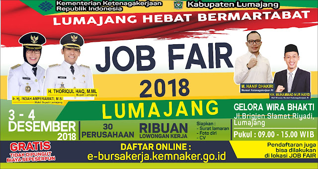 Job Fair Lumajang GRATIS