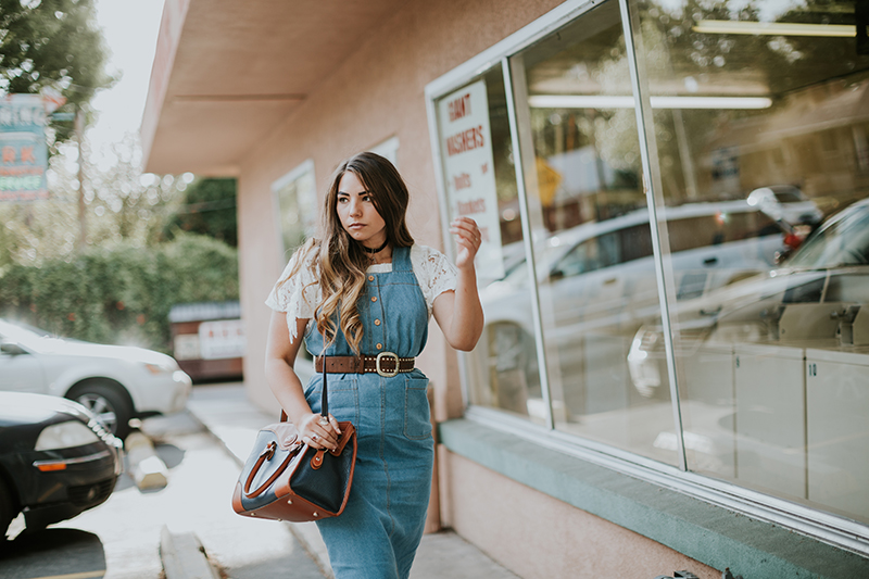 denim dress, best utah bloggers, best fashion bloggers