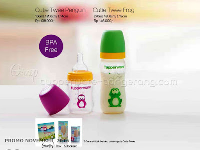 Cutie Twee Promo Tupperware November 2016