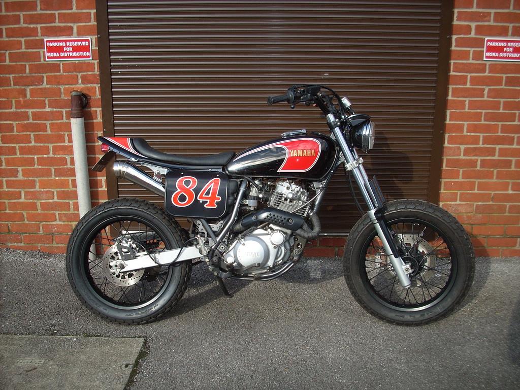 Racing Caf U00e8  Yamaha Xt 600  U0026quot Streetracker U0026quot  By Red Max Speed