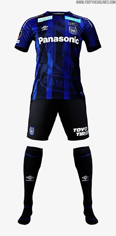 Gamba Osaka 2019 Home & Away Kits Revealed - Footy Headlines