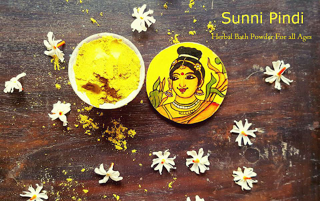 Sunni Pindi / Nalagu Pindi | Herbal Bath Powder for Babies