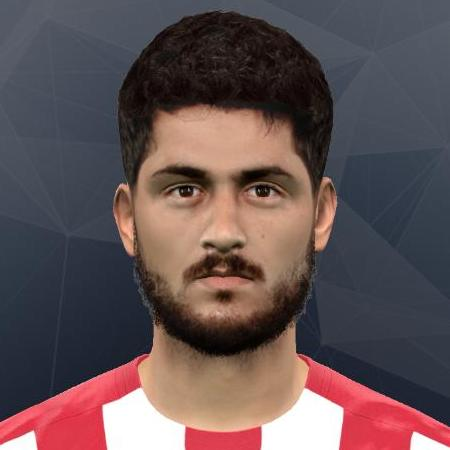 PES 2017 Face Nacho Cases (Sporting Gijon) by Andrey_Pol