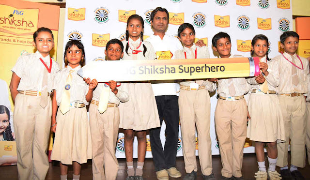 Nawazuddin Siddiqui at Shiksha Event In Delhi