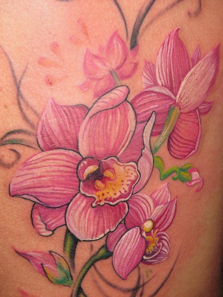 griffe tattoo orquÍdea tattoo