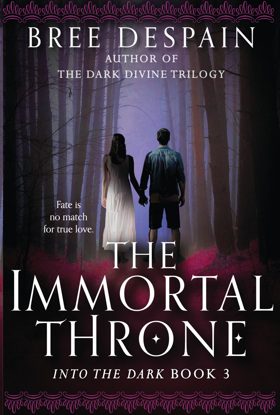 And Because It Is So Pretty, Here's Another Look At The Cover For The  Immortal Throne, (available For Preorder Now Wherever Books Are Sold ;d)
