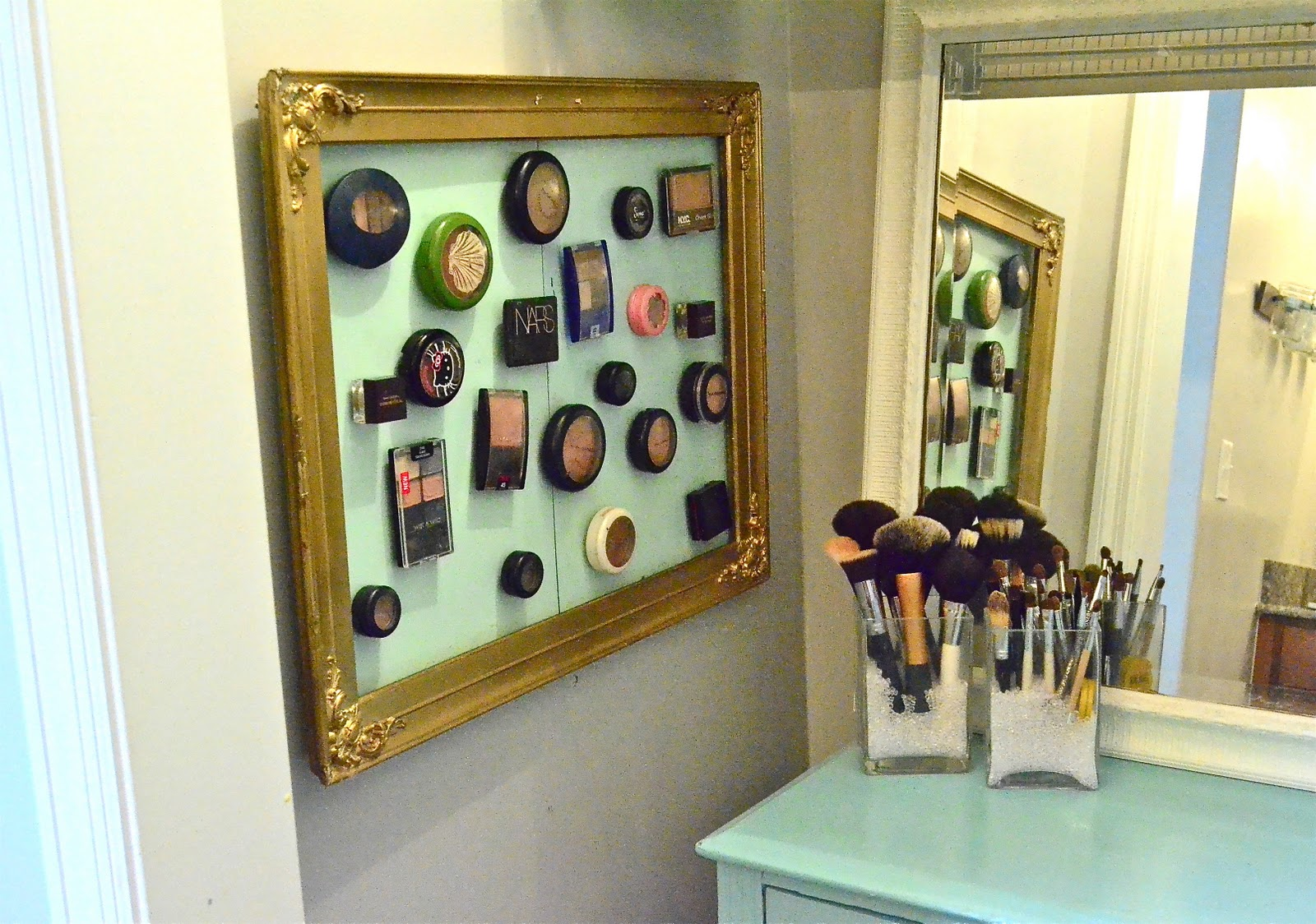Image result for magnetic makeup board