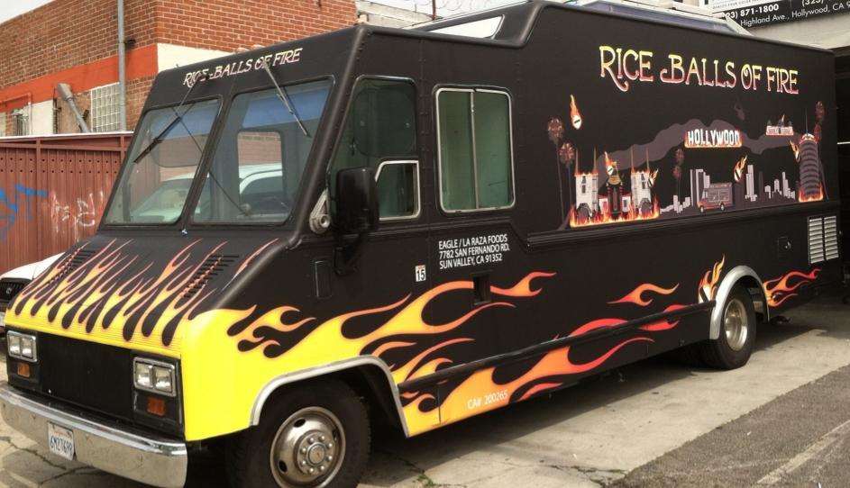 Rice Balls Of Fire Food Truck Menu