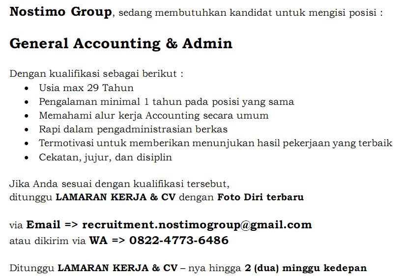 Job Vacancy Nostimo Group__5 September 2018 | Hotelier
