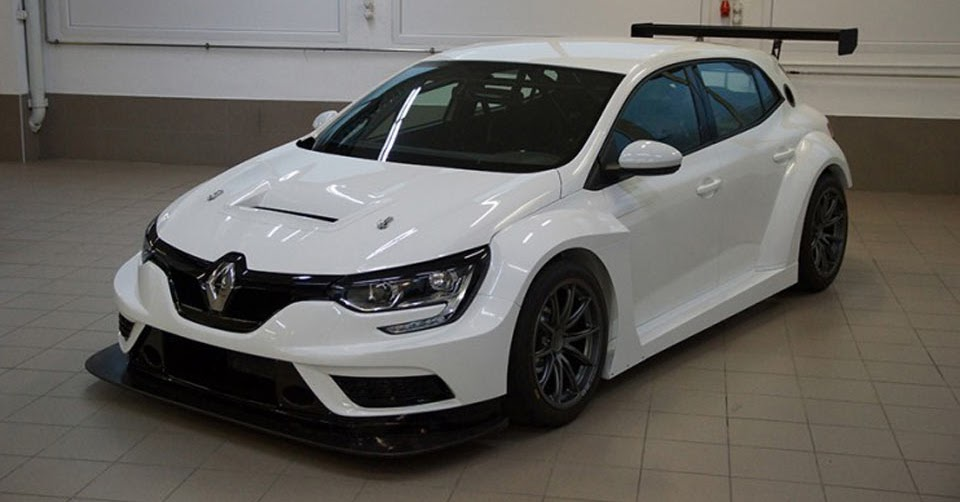 renault megane tcr ready to race in 2018. Black Bedroom Furniture Sets. Home Design Ideas