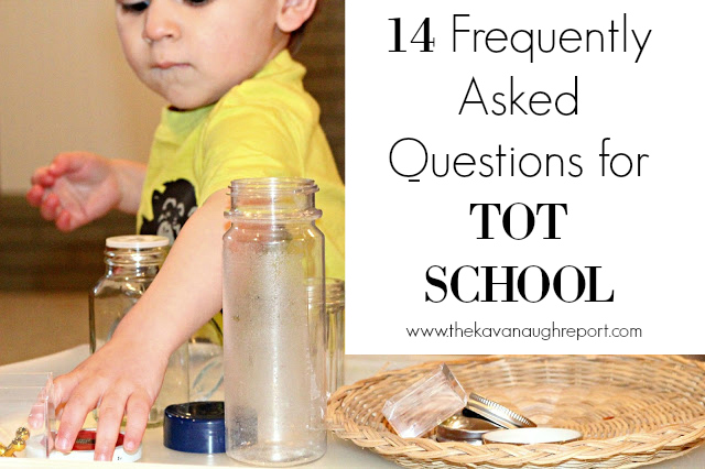 14 frequently asked questions for tot school.