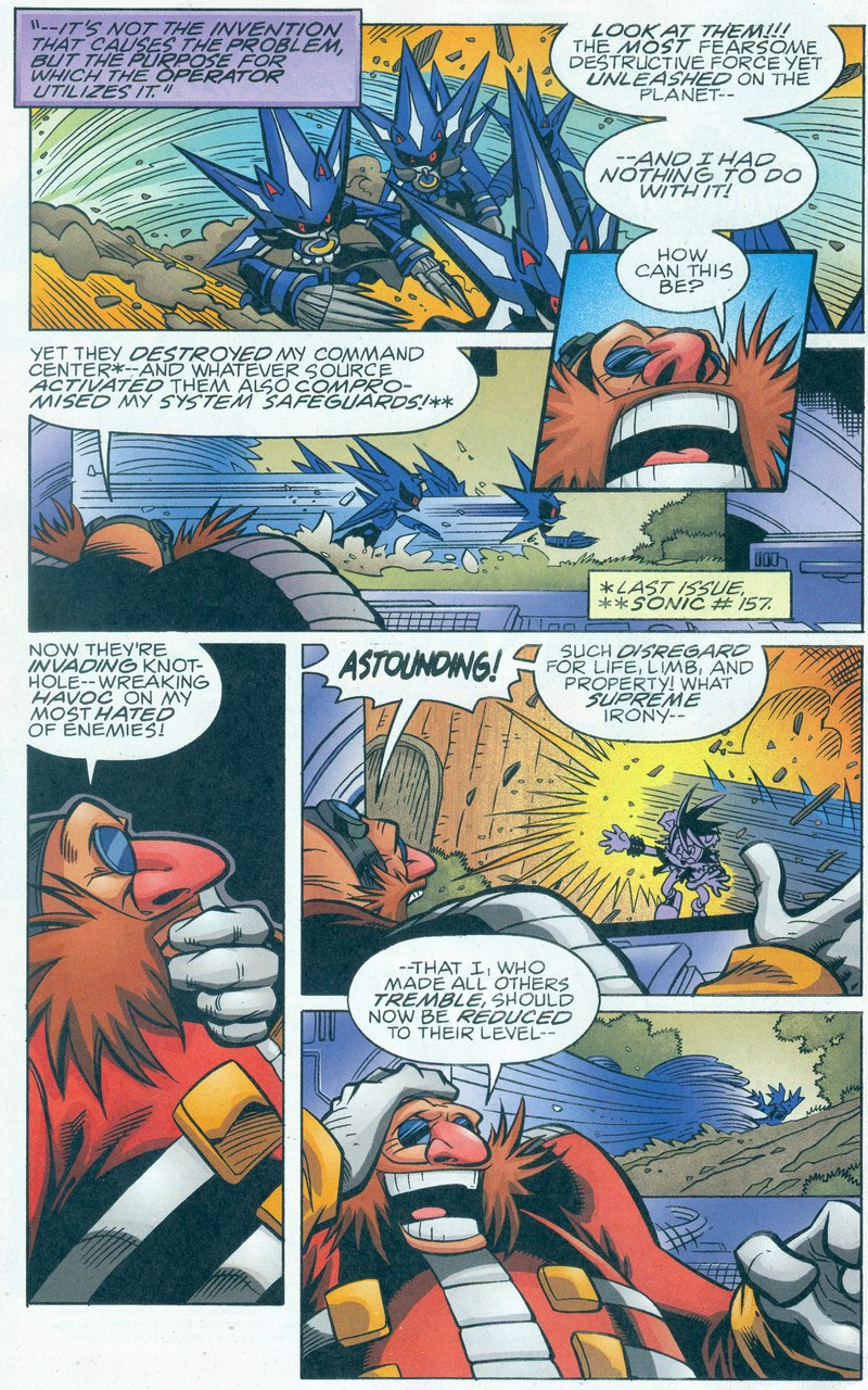 Read online Sonic The Hedgehog comic -  Issue #159 - 6