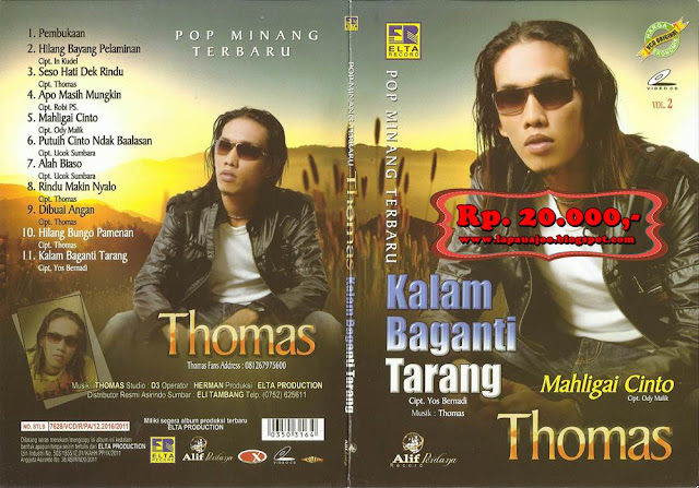 Thomas Arya - Kalam Baganti Tarang (Album Pop Minang Terbaru)