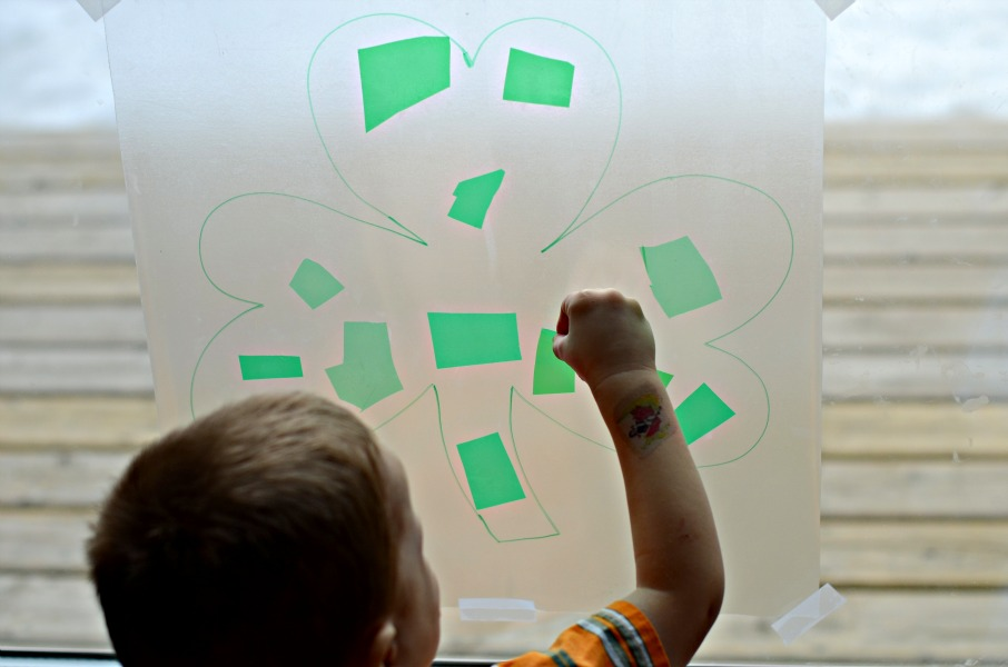 St. Patrick's Day craft for kids from And Next Comes L