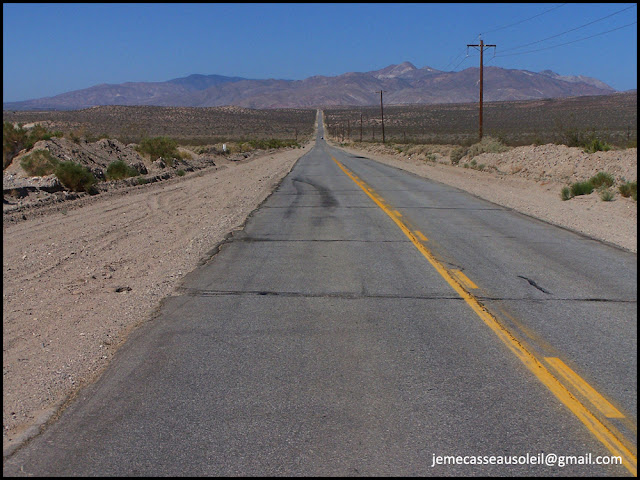 Desert Road to Death Valley