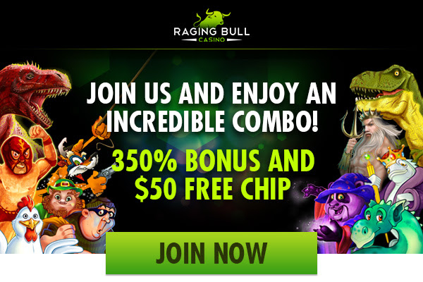 Raging Bull Casino Welcome Bonuses