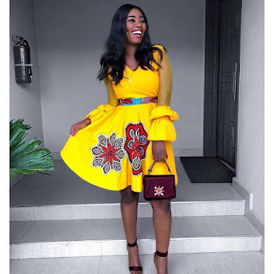 Check Out These Latest Stylish Ankara Gown Styles 2018