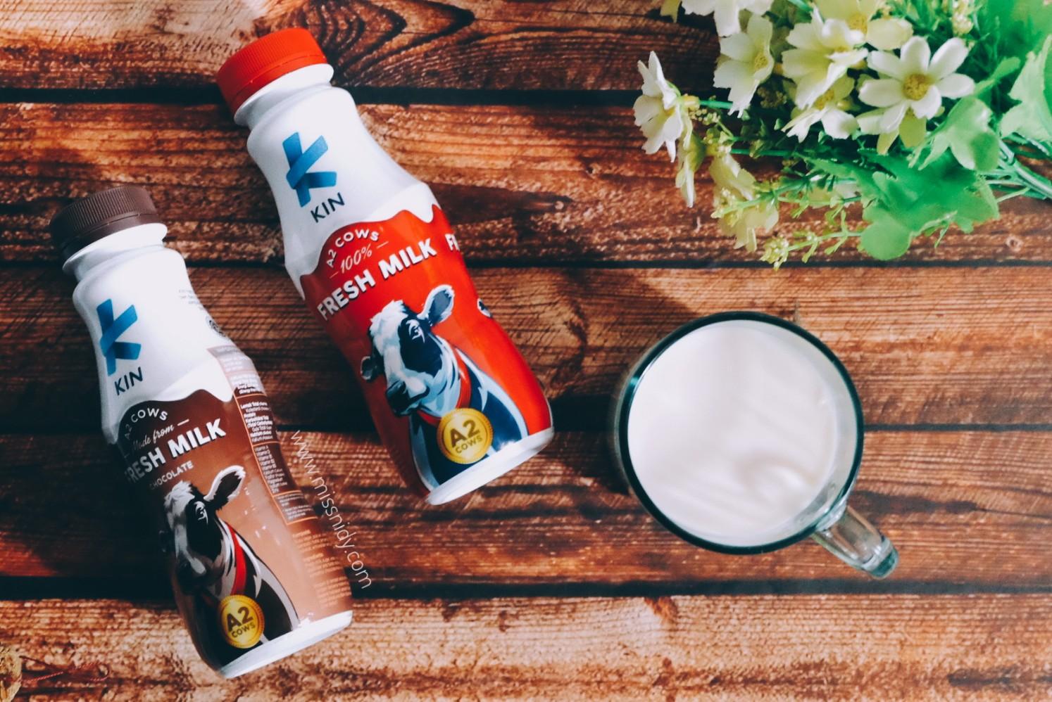 kin fresh milk susu mengandung protein a2