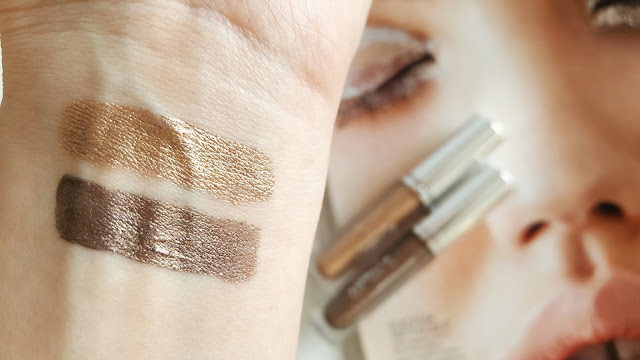 Golden Rose Metals Metallic Liquid Eyeshadow | Metalik Likit Farlar