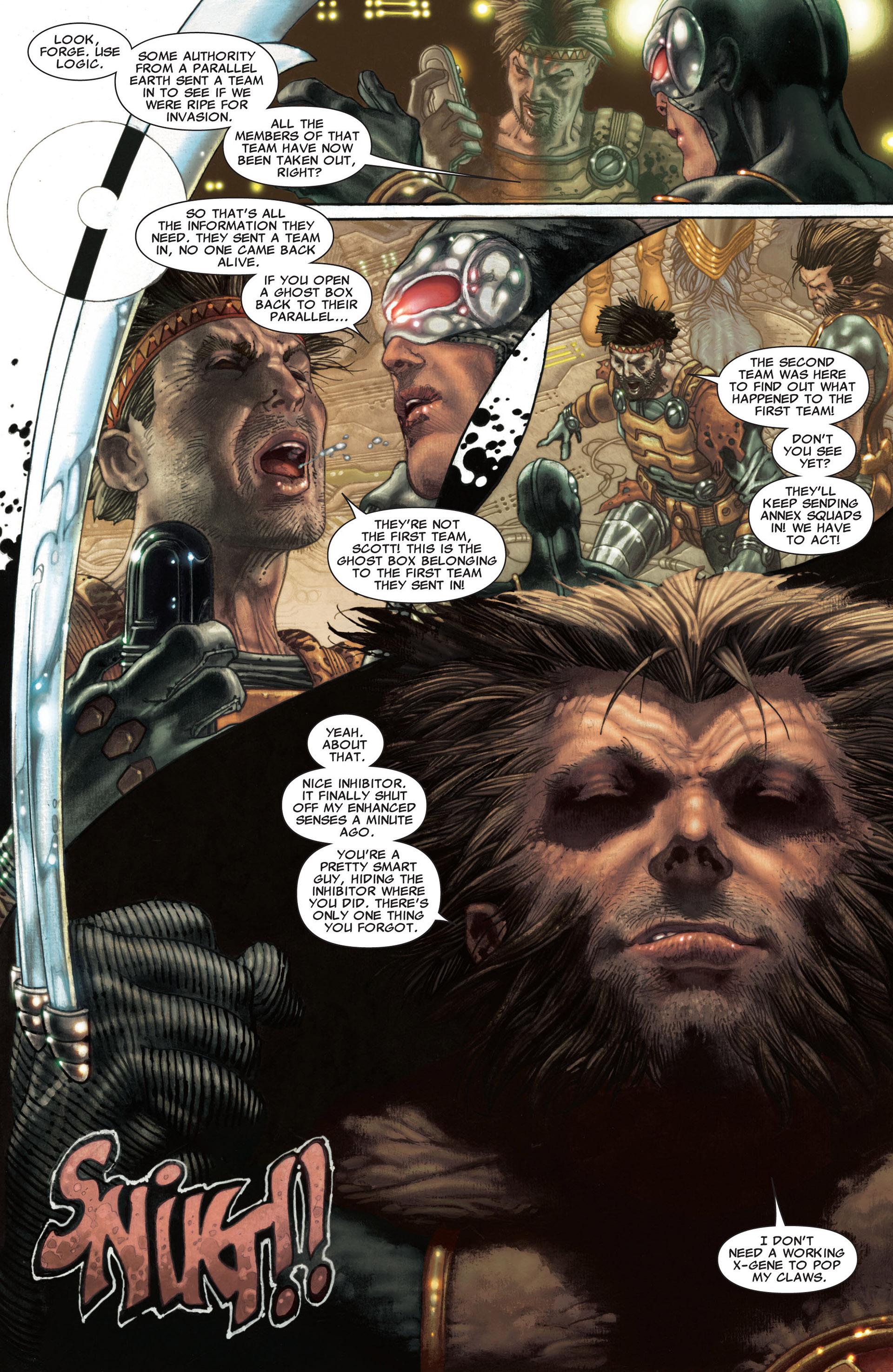 Read online Astonishing X-Men (2004) comic -  Issue #30 - 11