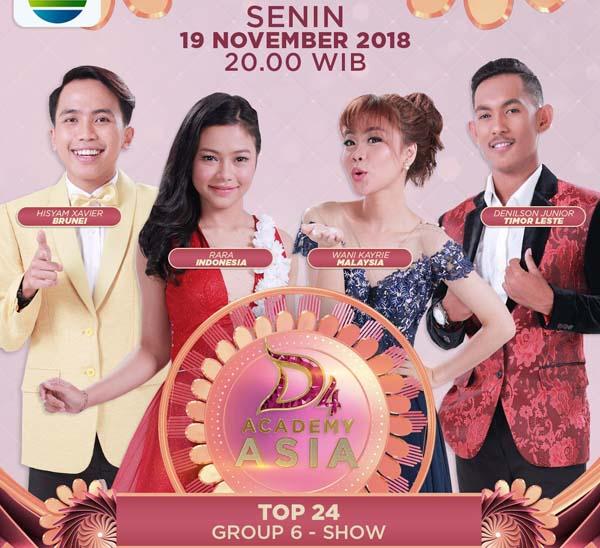 DA Asia 4 Top 24 Grup 6 Tadi Malam