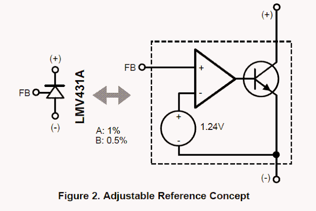LM431AIMF Diode based overvoltage protector