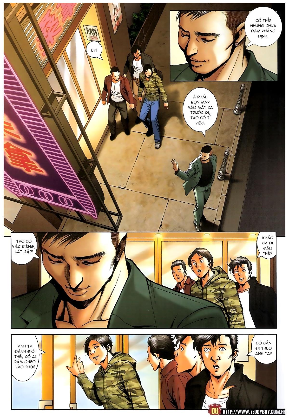 Người Trong Giang Hồ - Chapter 1585: Chỗ dựa của Địch Uy - Pic 5