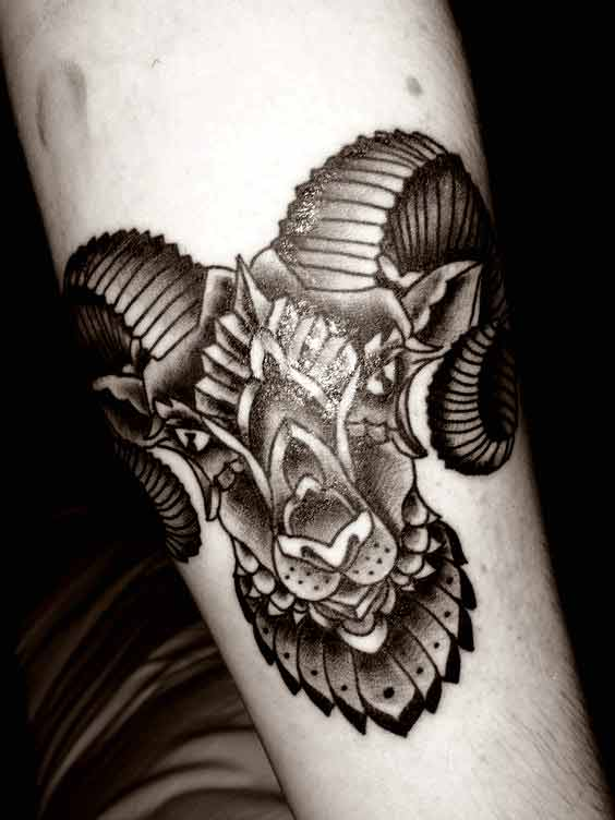 Best aries tattoos