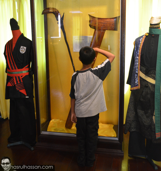 Kenali Keris Melayu Muzium Adat Istana Jahar