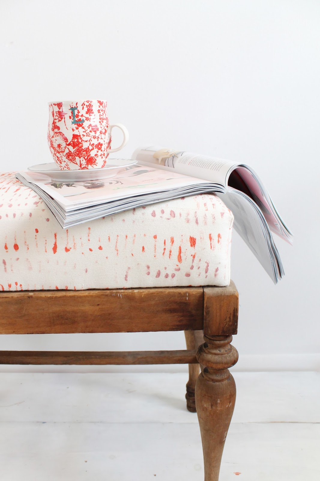 Make Your Own Printed Fabrics for DIY Upholstery Projects