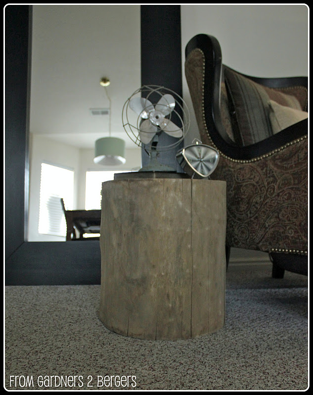 DIY-▪West-Elm▪-Tree-Stump-Table