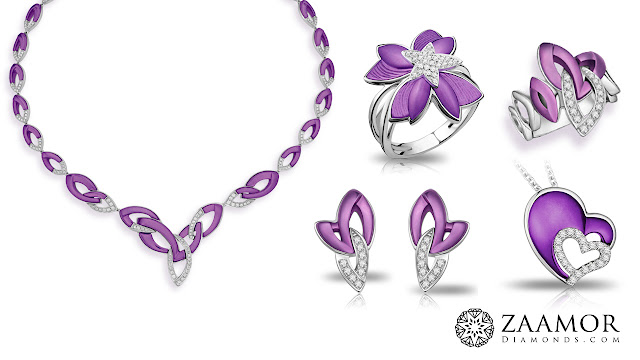 Purple Gold Jewellery