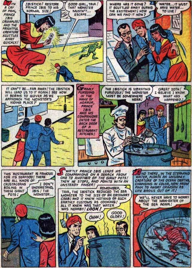 Read online WHIZ Comics comic -  Issue #154 - 21